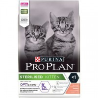 PRO PLAN Sterilised Kitten Лосось - kormProPlan.ru